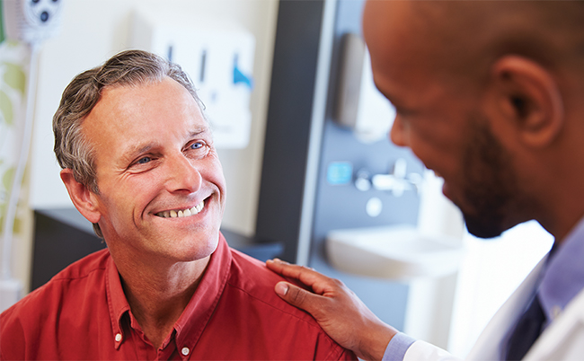 Patient choosing doctor